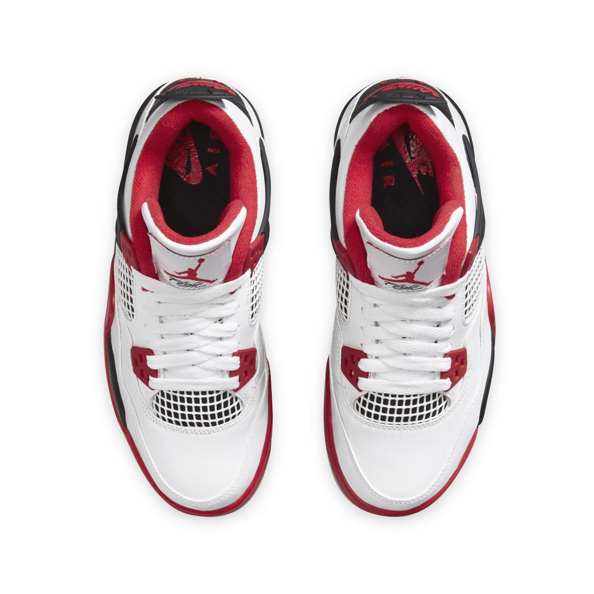 "Nike Air Jordan 4 ""Fire Red"" - Kids"