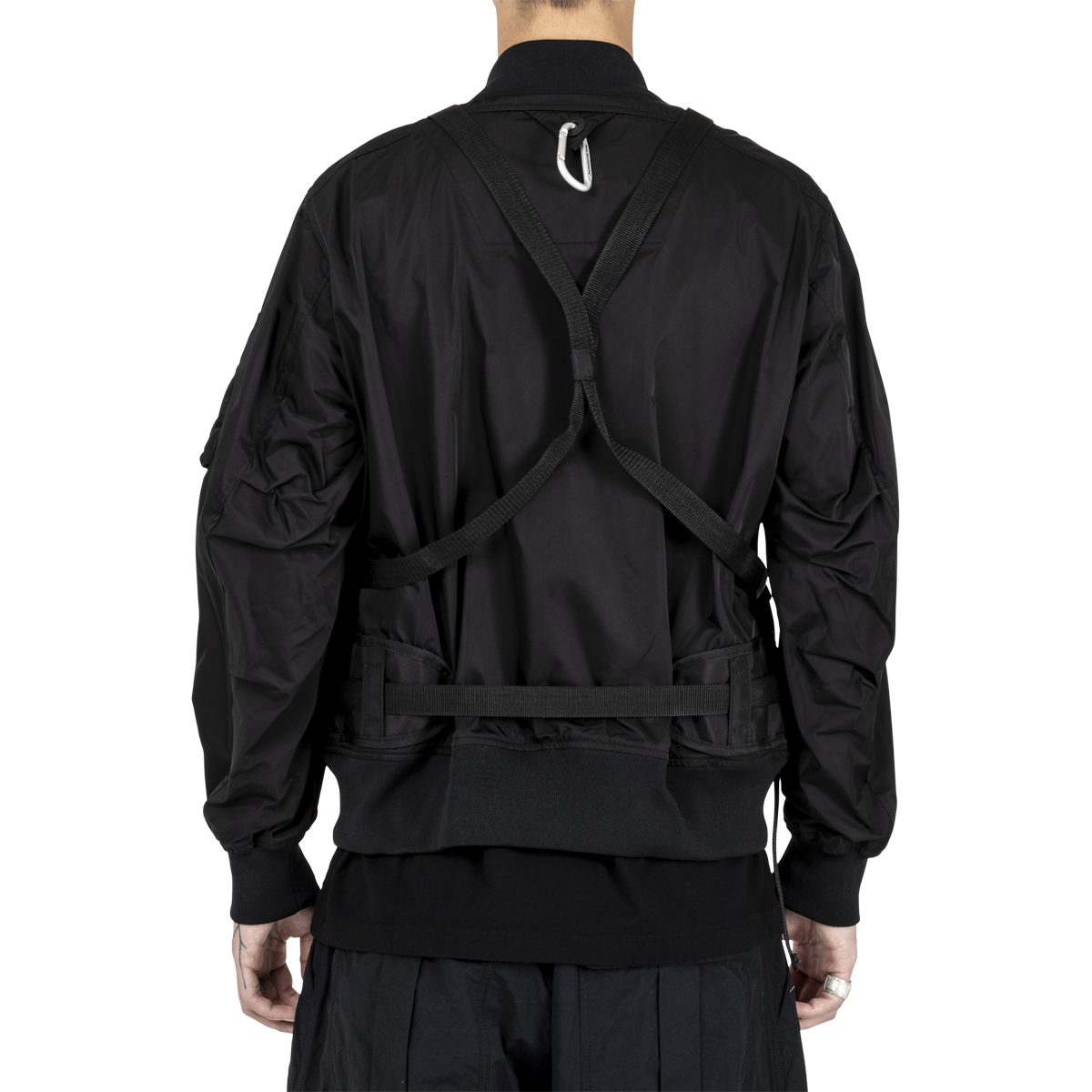White Mountaineering Twill Shoulder Pad Bomber