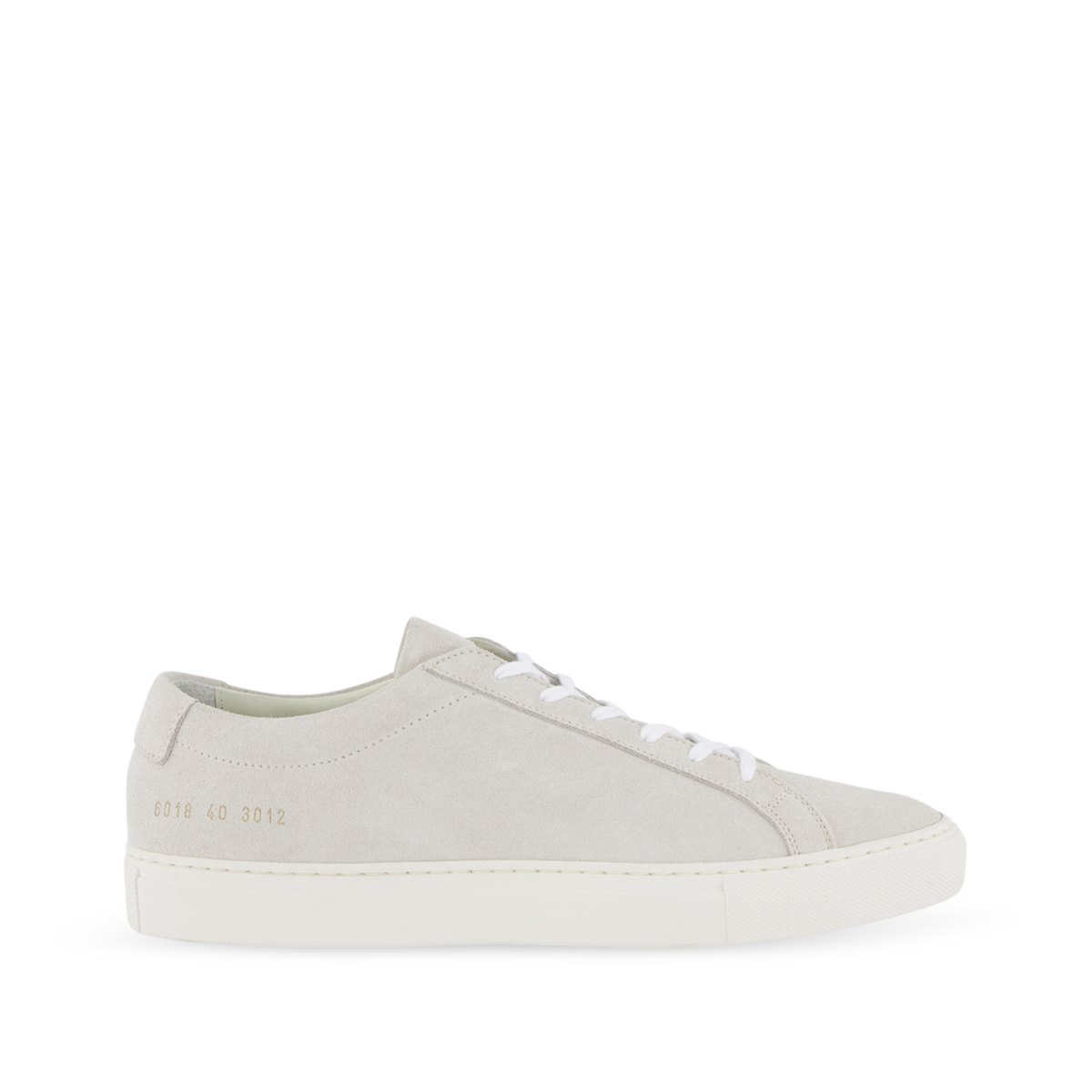 Common Projects Womens Achilles Low Suede Contrast