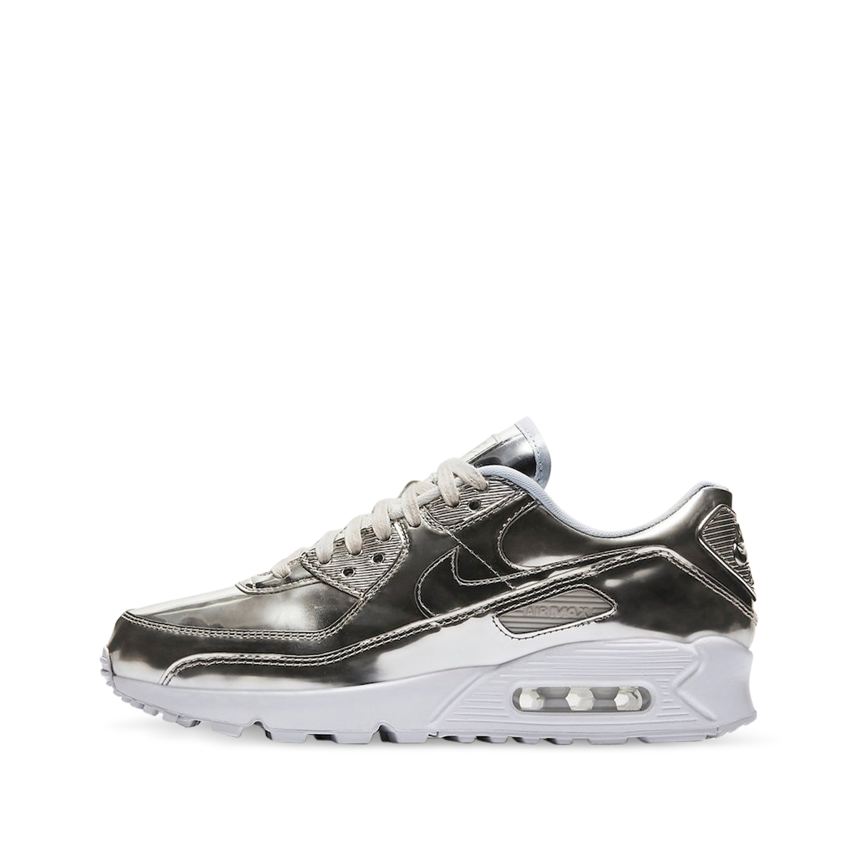 Nike Womens AM 90 Liquid Metal