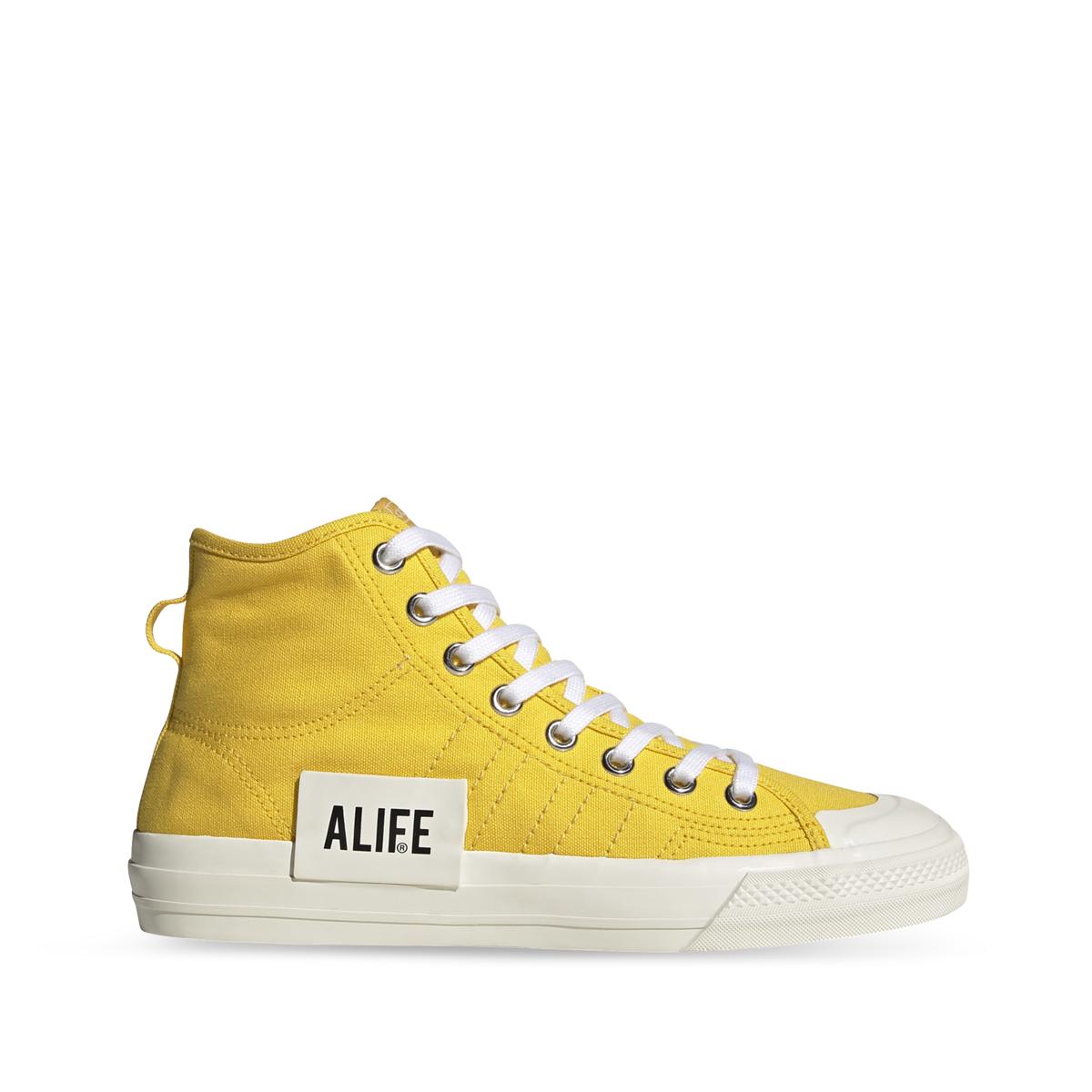 adidas X Alife Nizza Hi Yellow Right