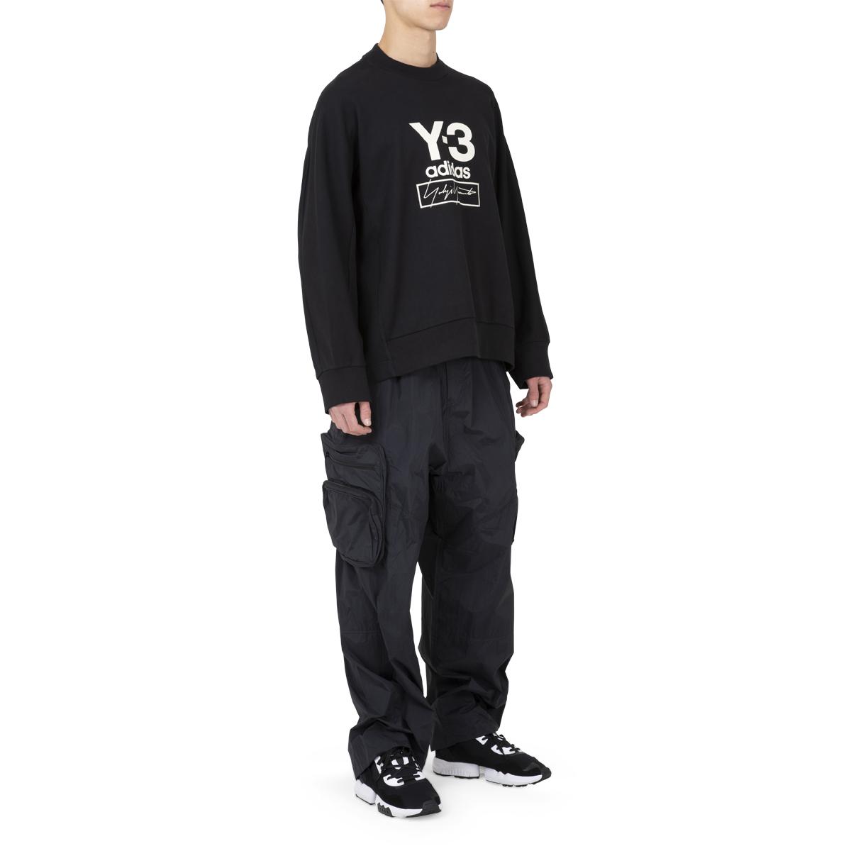 adidas Y-3 Stacked Logo Sweatshirt