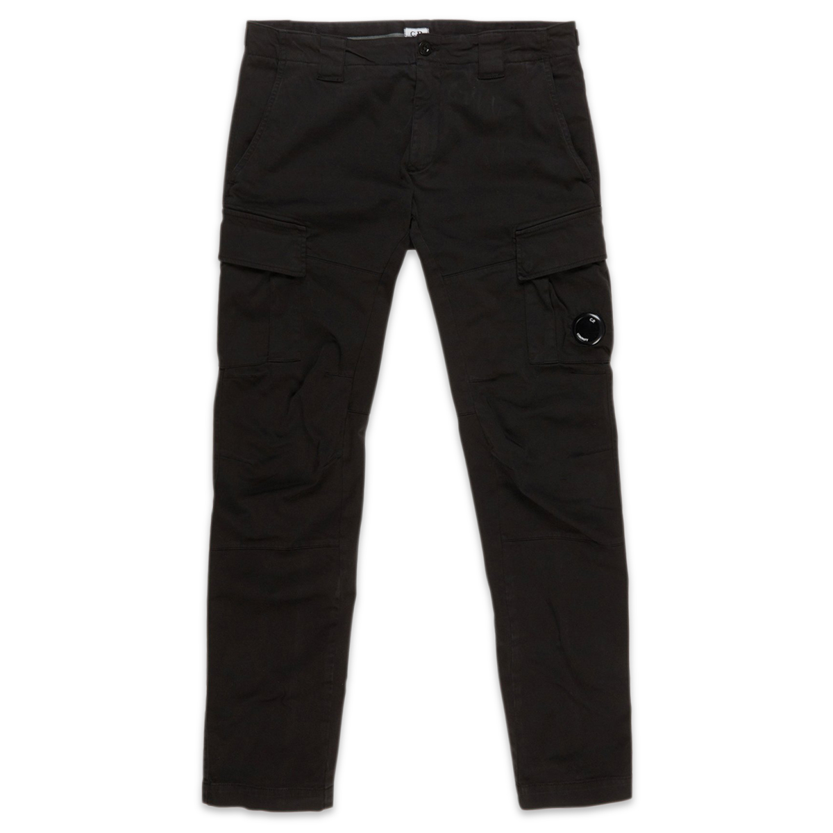 CP Company Garment Dyed Stretch Sateen Lens Pocket Pants