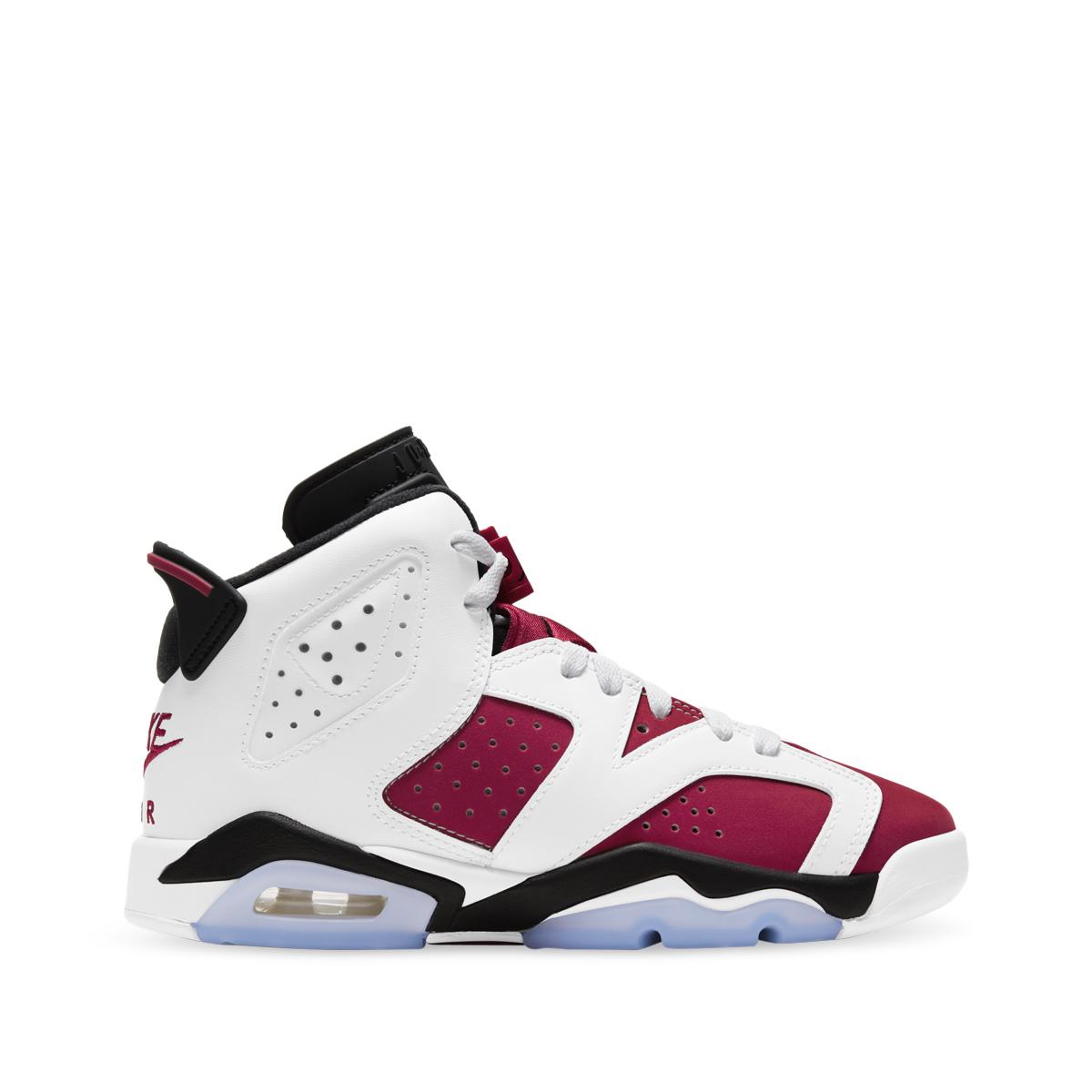 """Nike Air Jordan 6 Retro """"Carmine"""" - Youth"""