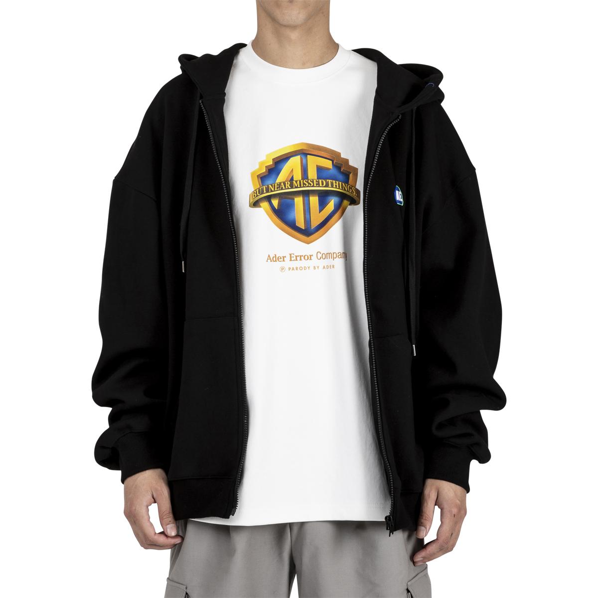 ADER Error Stone Logo Zip-Up Hoodie