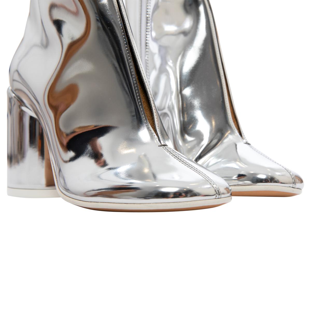 MM6 Maison Margiela 6-Heel Mirror Boots