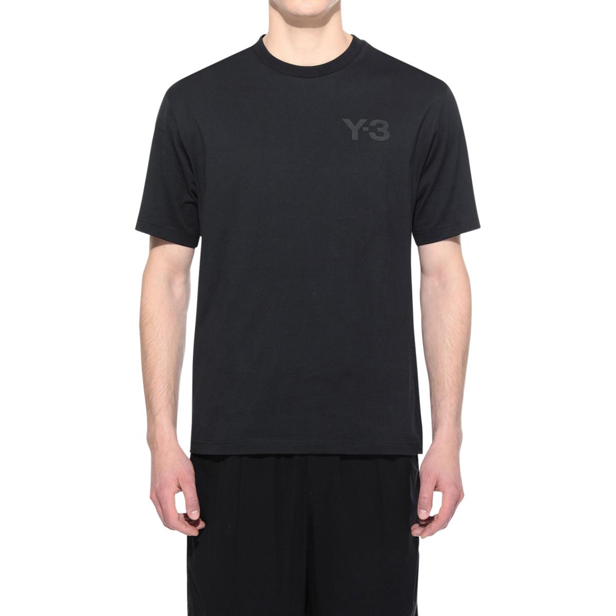 adidas Y-3 Logo Short Sleeve Tee