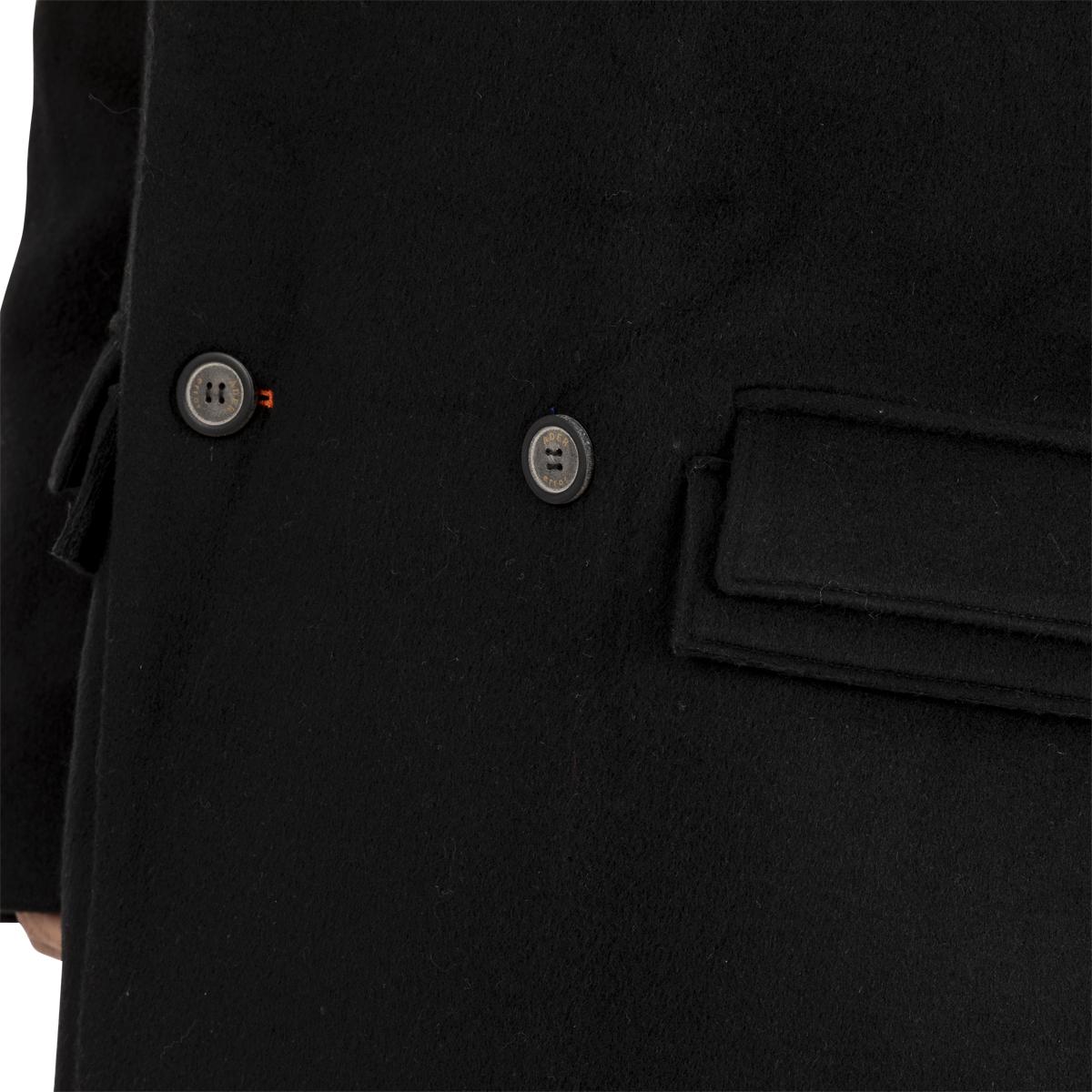 ADER Error Oversized Coat Black