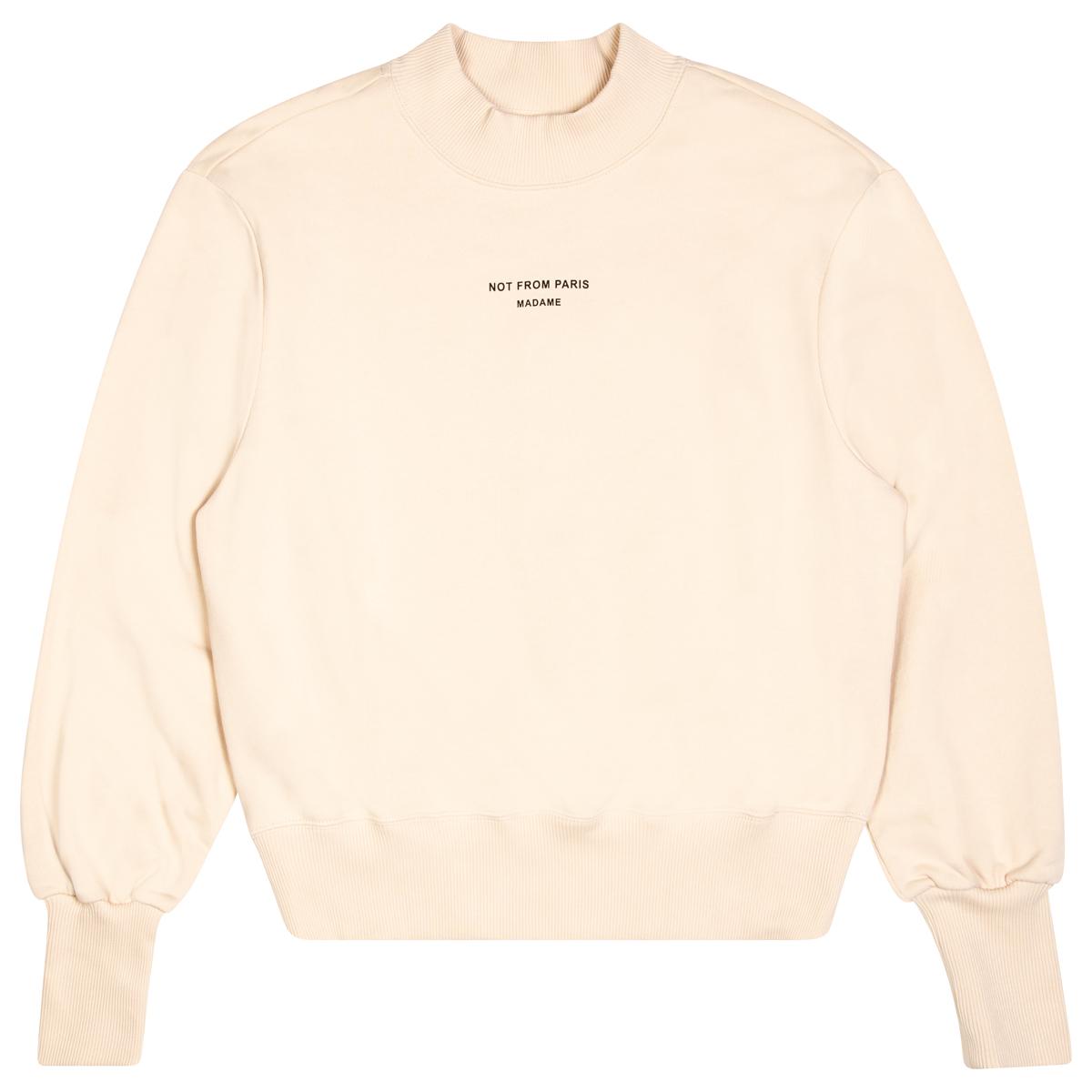 Drole De Moniseur Cropped Sweater