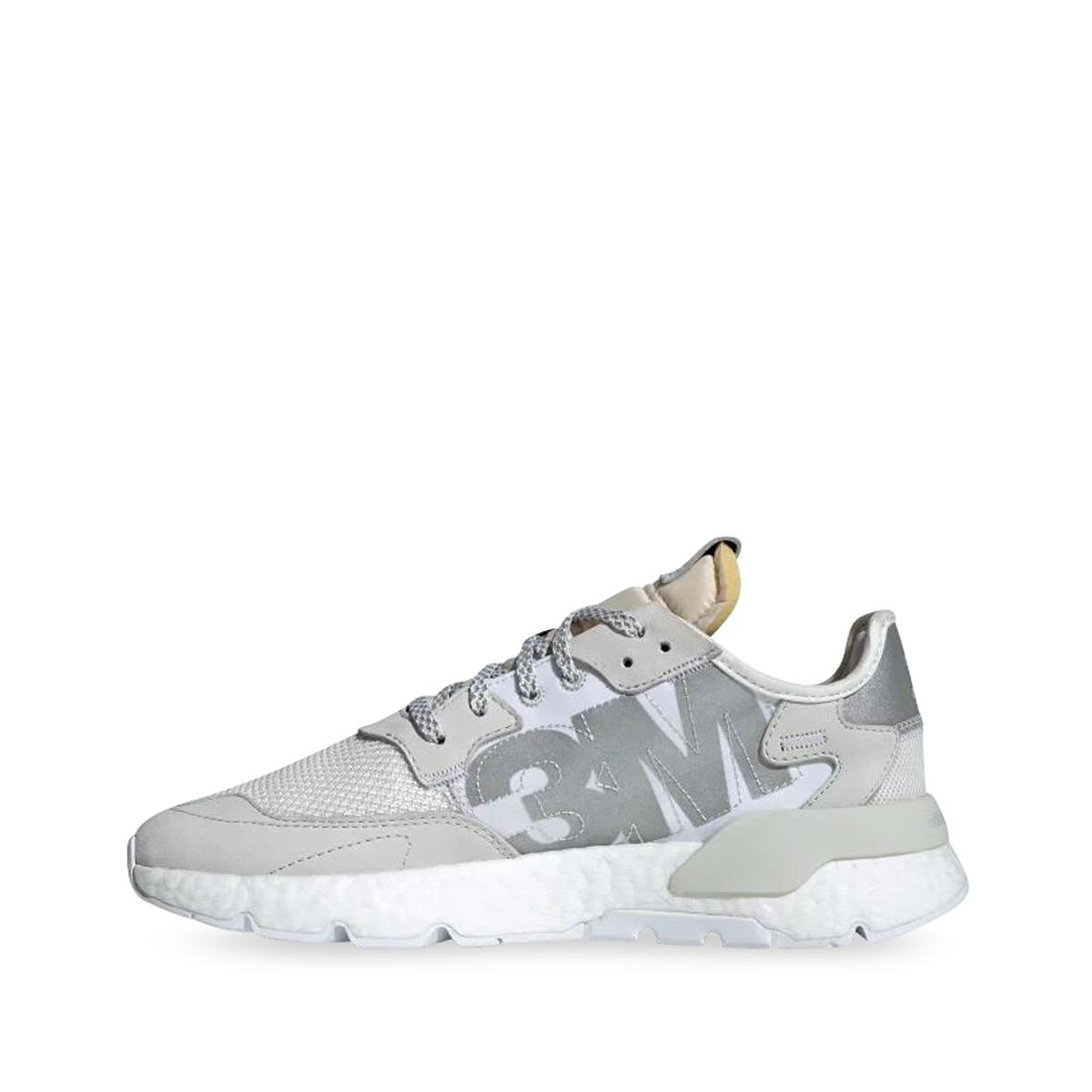 adidas Nite Jogger White Left