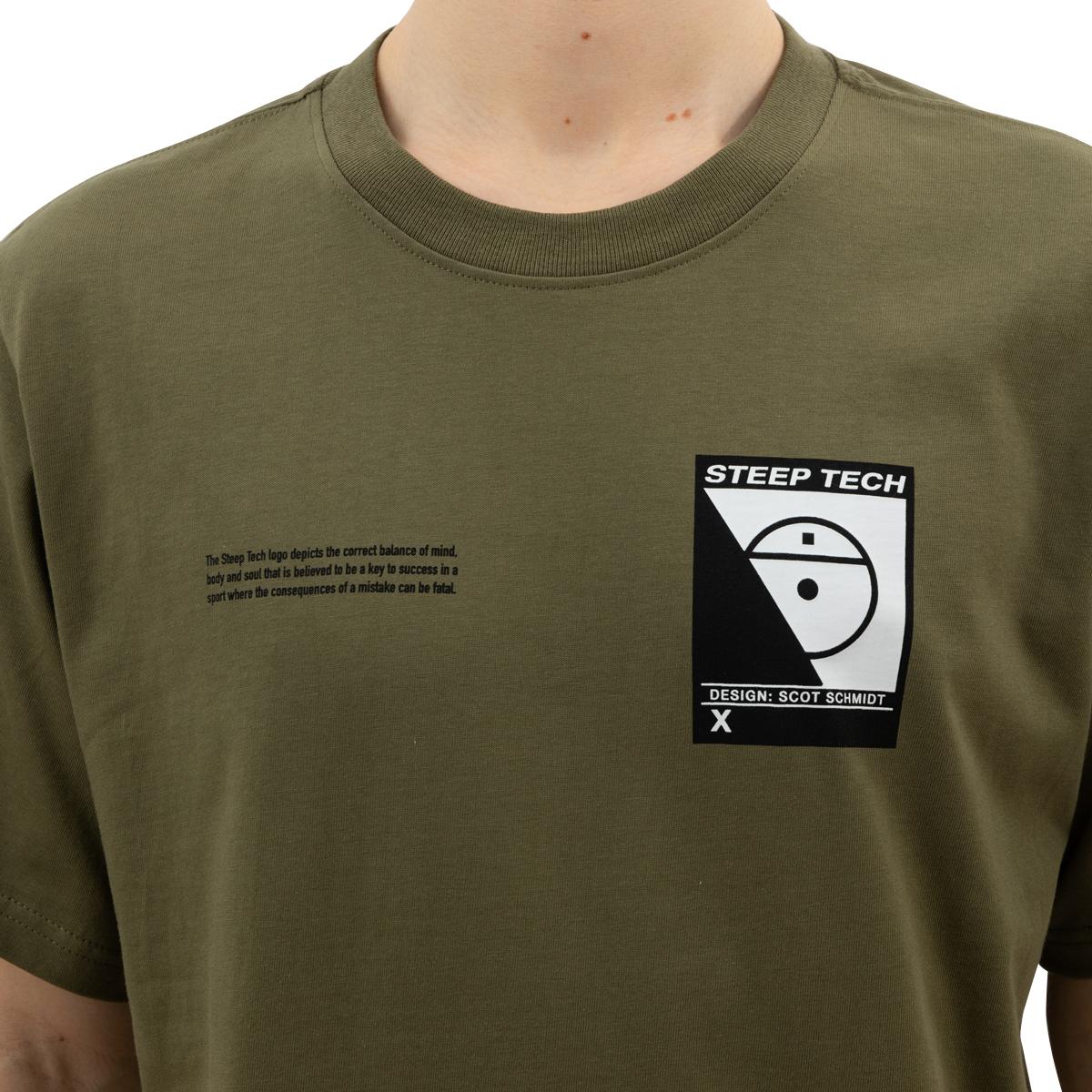 The North Face S/S Steep Tech Logo Tee