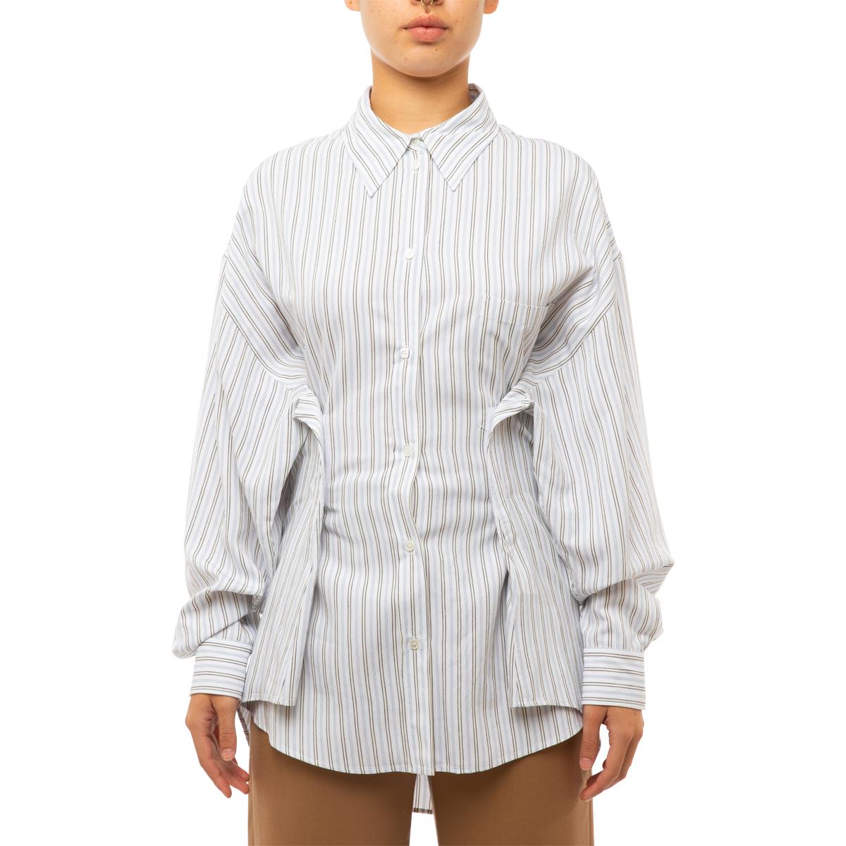 MM6 Maison Margiela Striped Viscose Shirt