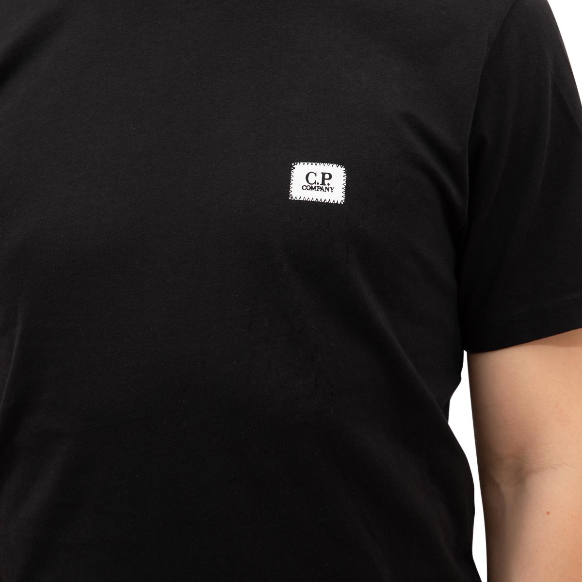 CP Company Jersey 30/1 Logo Badge T-Shirt