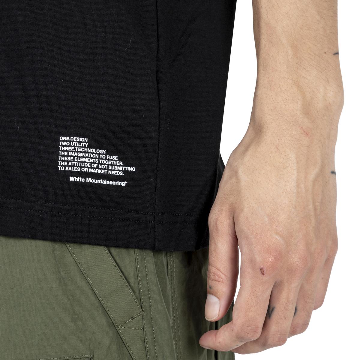 White Mountaineering Pocket Printed T-Shirt