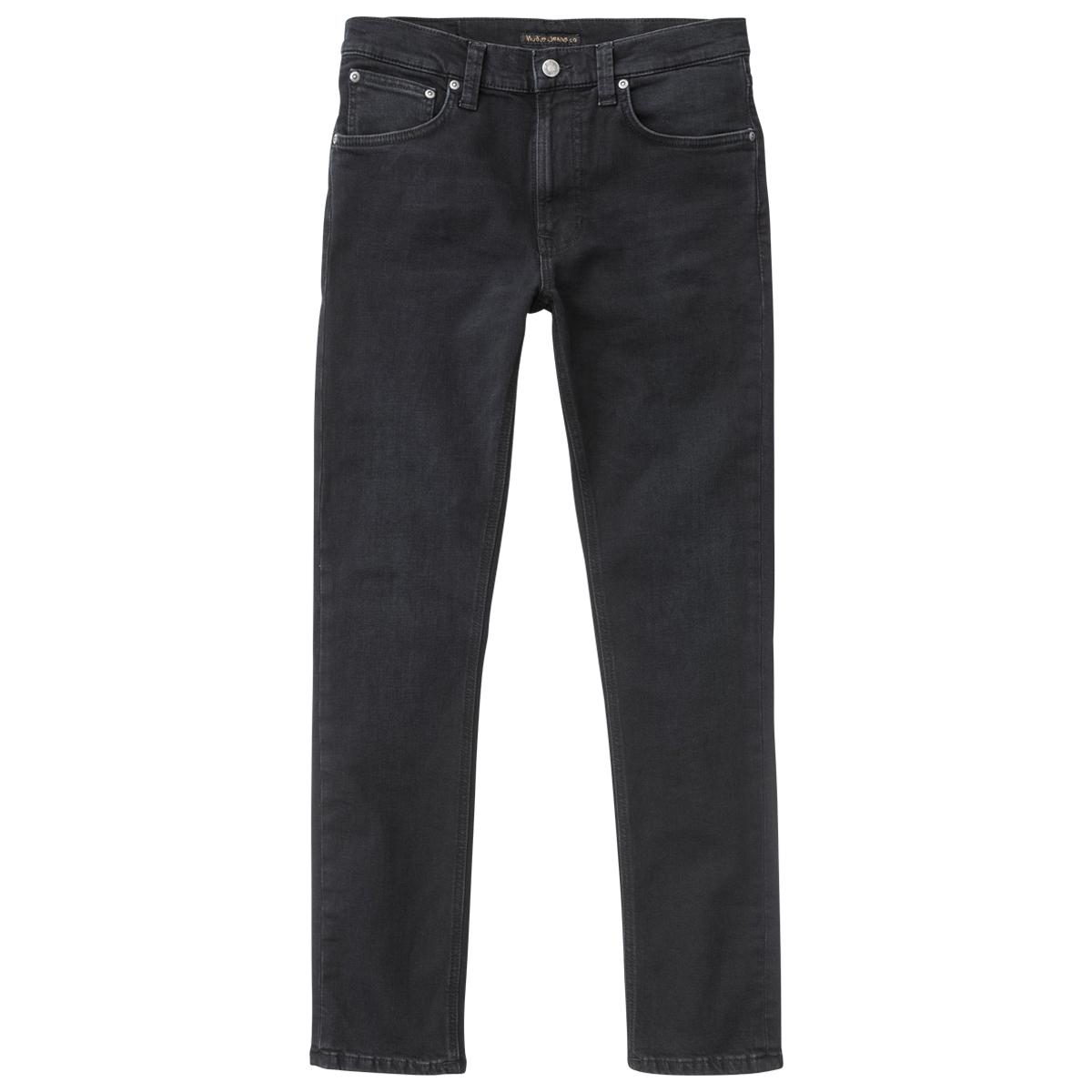 Nudie Jeans Co Lean Dean Black Out L30