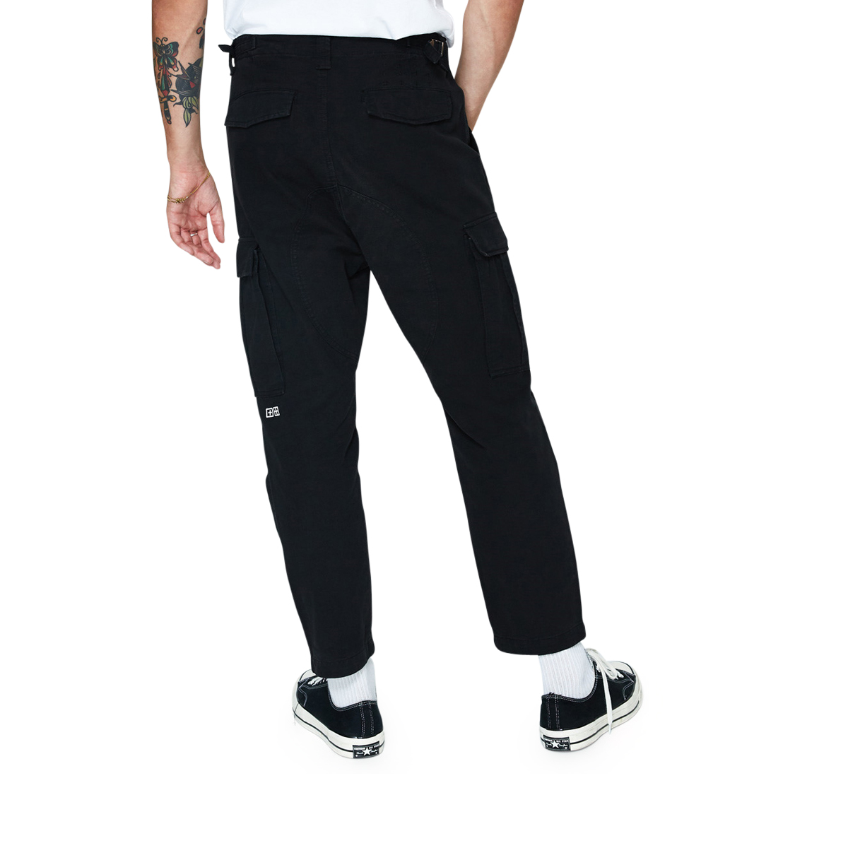 KSUBI Kraft Cargo Pants Black
