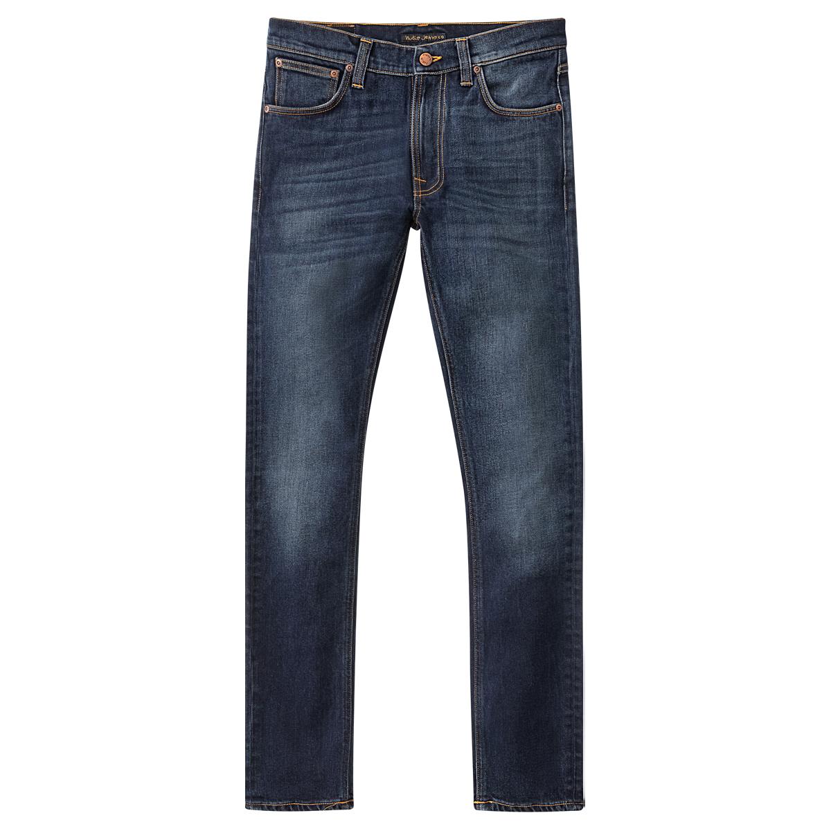 Nudie Jeans Co Lean Dean Ink Navy L32
