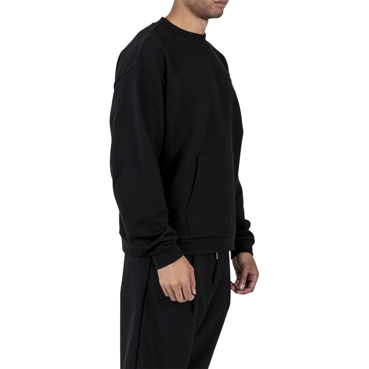 Drôle De Monsieur Slogan Pocket Sweatshirt