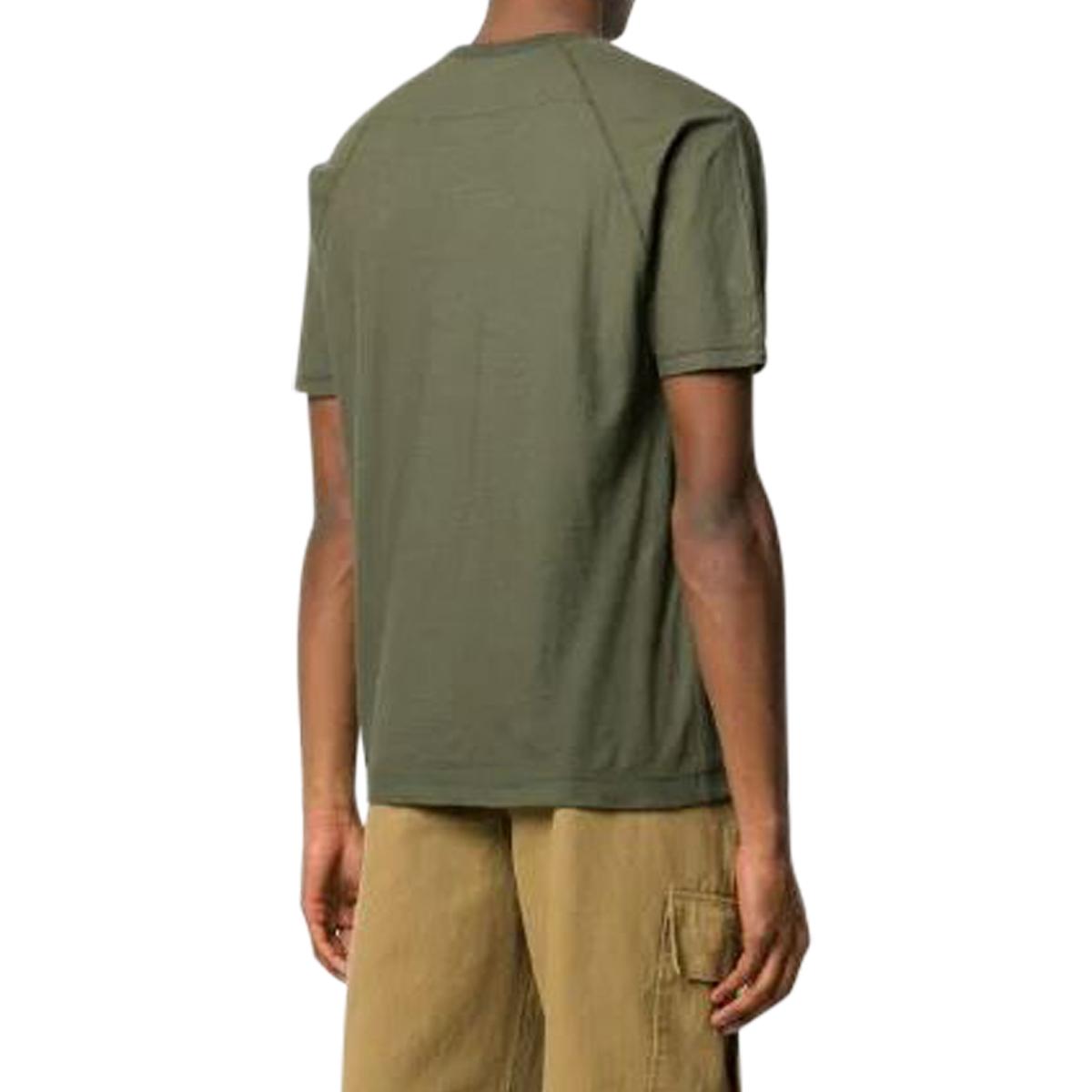 CP Company Garment Dyed No Gravity Jersey Logo T-Shirt