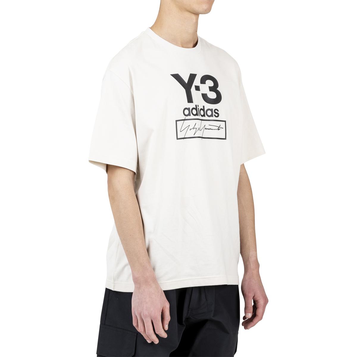 adidas Y-3 Stacked Logo Tee