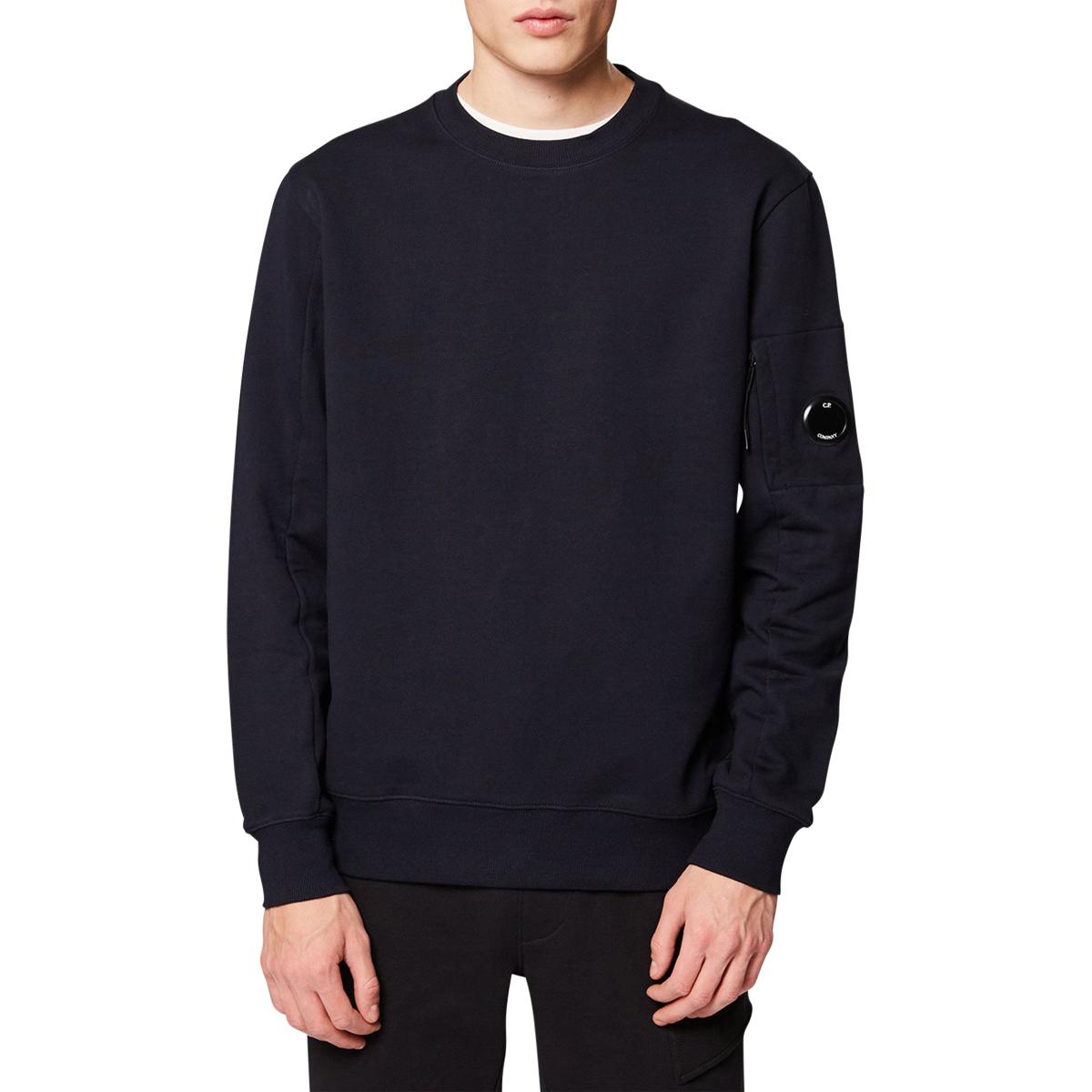 CP Company Diagonal Fleece Lens Crew Sweater