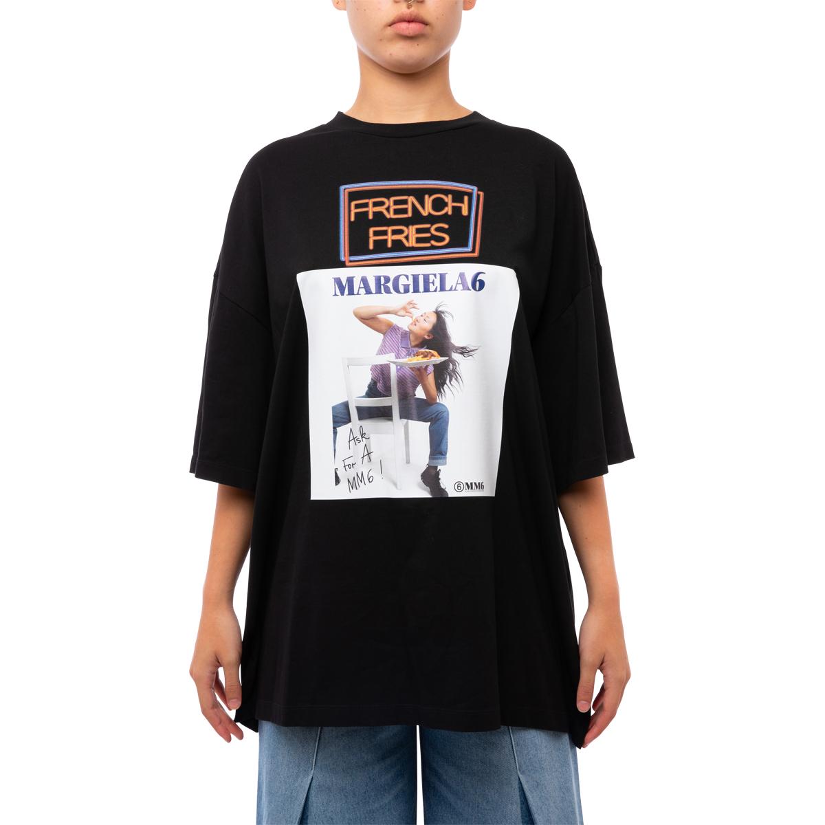 MM6 Maison Margiela French Fries T-Shirt