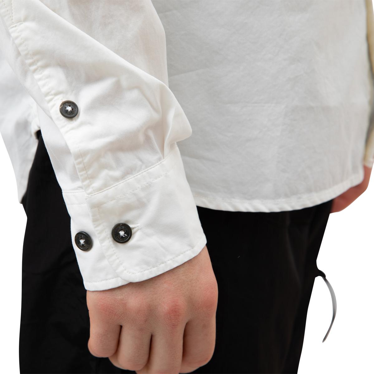 CP Company Garment Dyed Emerized Garadine Lens Shirt