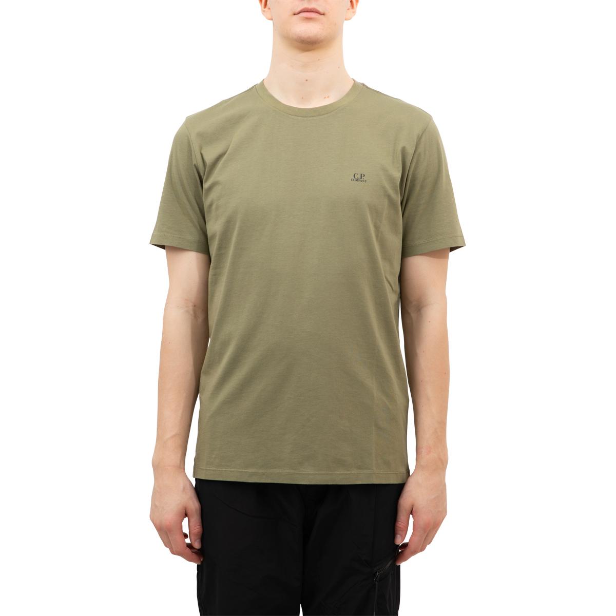 CP Company Jersey 30/1 Mini Chest Logo T-Shirt